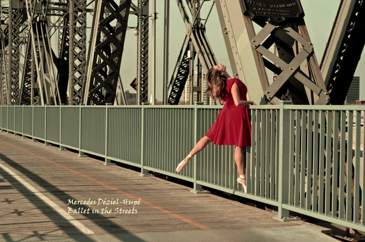(c) Mercedes Déziel-Hupé  Project: Ballet in the Streets  Fall 2012  Model/dancer: Anne Hennessy