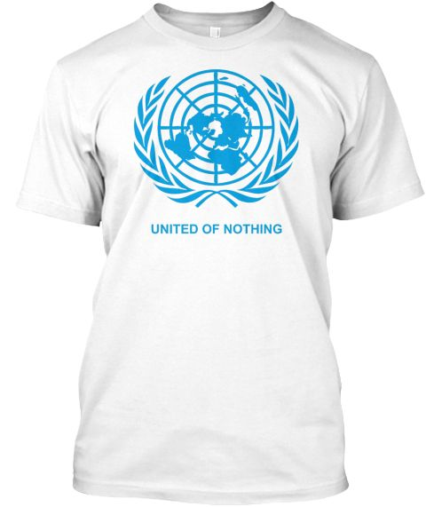 United Of Nothing White Kaos Front