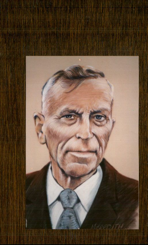 Portrait of Frederick Thomas Jackson by Meredith Evans