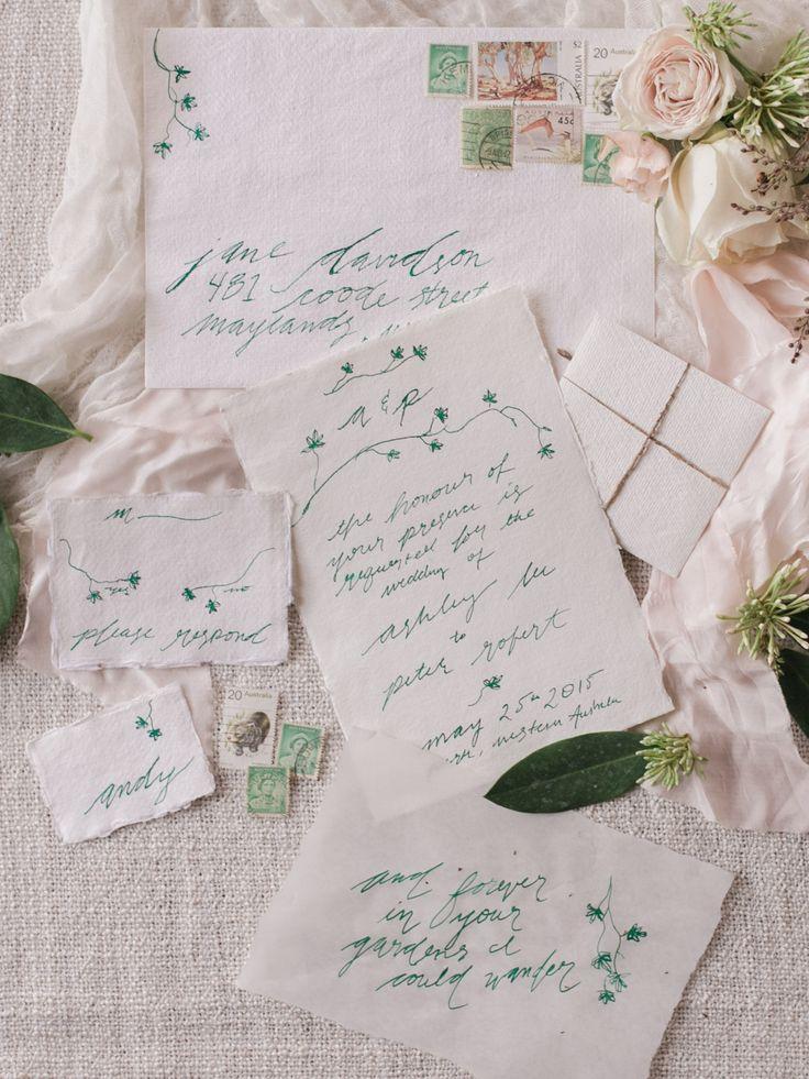 Enchanted Forest Wedding Invitations Photography by Katie Grant  ( Instagram @bridelaboheme)