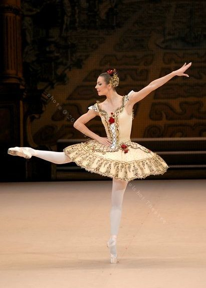 Maria Alexandrova - Bolshoi Ballet. Photo: Marc Haegeman                                                                                                                                                     More