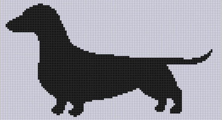 Looking for your next project? You're going to love Weiner Dog 3 Cross Stitch Pattern  by designer Motherbeedesigns.