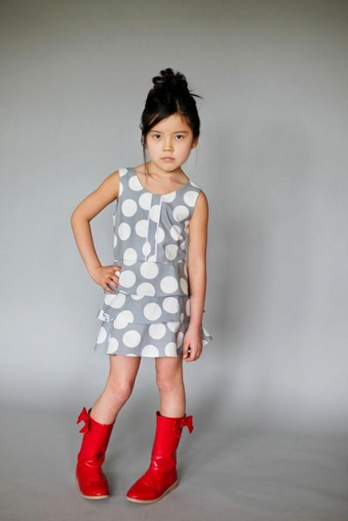Figgys Patterns. Sewing patterns for stylish childrens' clothing.