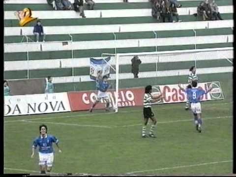 ▶ Leça 0-5 Belenenses Época 1995/96 - YouTube