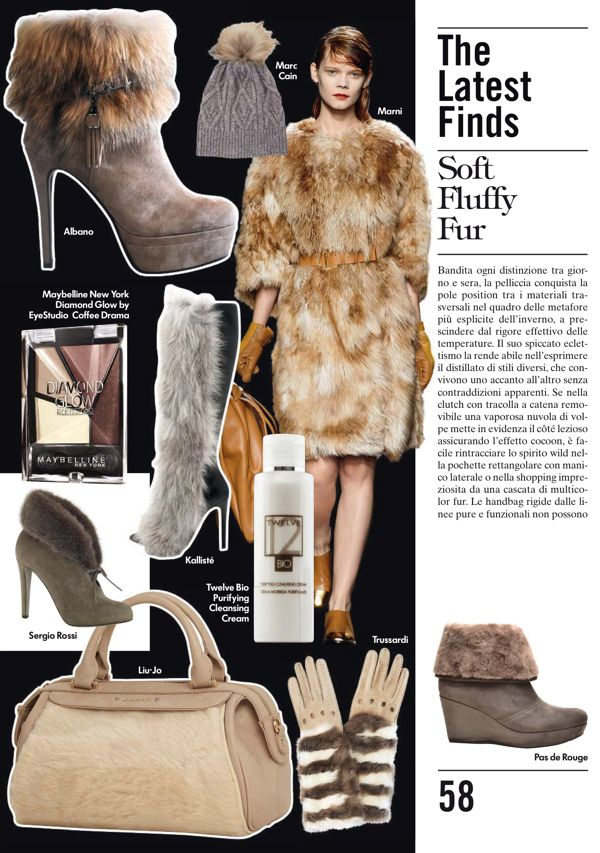 VOGUE Accessory Italy Winter Trends 2014, Fashion trends 2014, AW Trends, FW Trends, Vogue Magazine