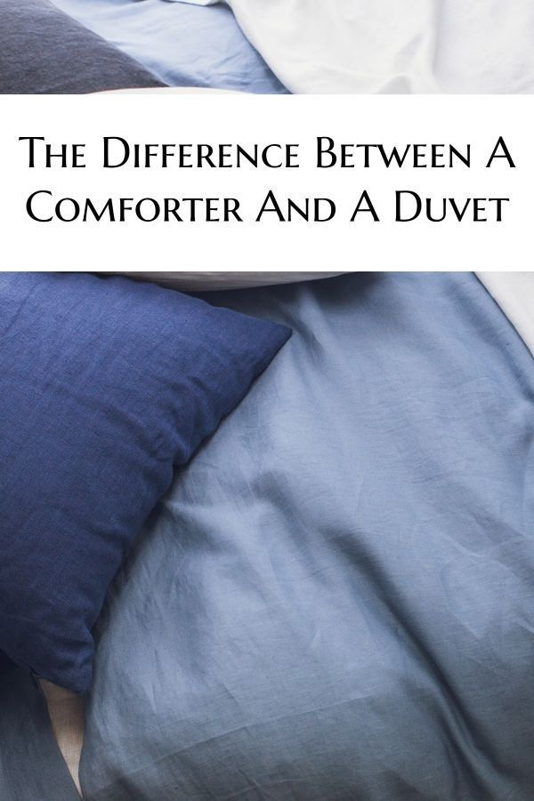 Duvet Vs Comforter Difference And Comparison You Need To Know