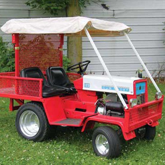 Cub Cadet Tractor Seat : Cub cadet to custom wrecker equipment farm