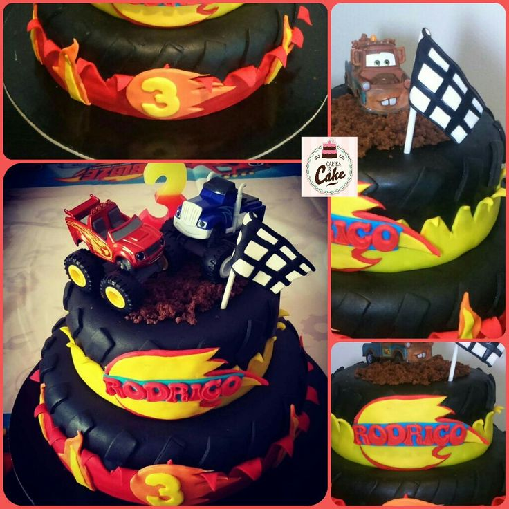 28++ Blaze birthday cake asda inspirations