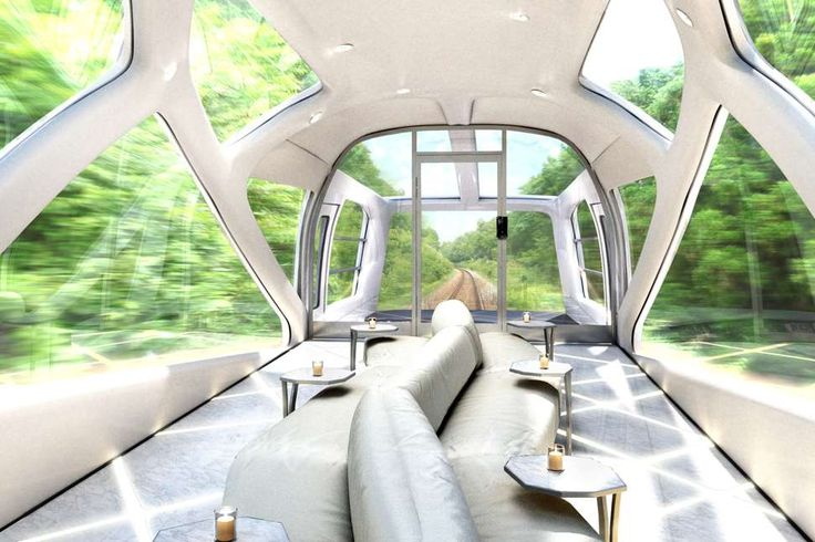 Sweeping glass windows for scenic views, specially designed nickel silver cutlery, cypress bathtubs. Japan has a new ultra-luxurious sleeper train in service starting today, and man, it's unbelievable.