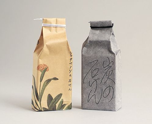 This packaging has simple imagery used of the carriers and also has a organic appearance.