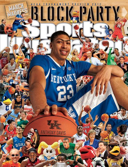 Anthony Davis of the Kentucky Wildcats - Sports Illustrated, March 19, 2012.