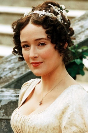 """Elizabeth Bennet (Jennifer Ehle)- """"Pride and Prejudice"""" (TV 1995)"""