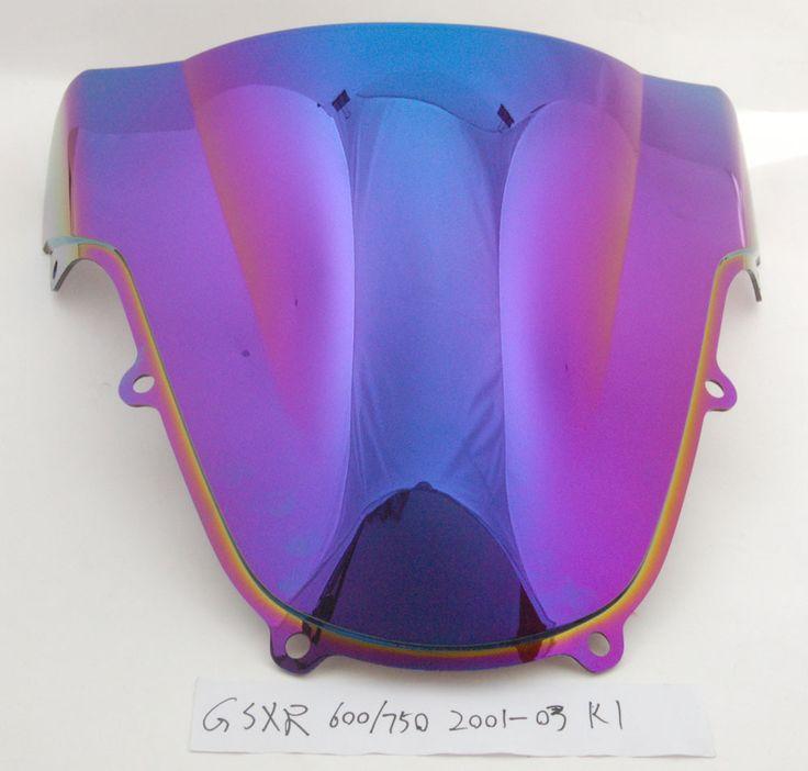 Mad Hornets - Windscreen Windshield Suzuki GSXR  600/750 K1 (2001-2003) GSXR 1000 K2 (2000-2002), Double Bubble, 5 Color Options, $39.99 (http://www.madhornets.com/windshield-for-suzuki-gsxr-600-750-k1-2001-2003-gsxr-1000-k2-2000-2002-double-bubble-5-color-options/)
