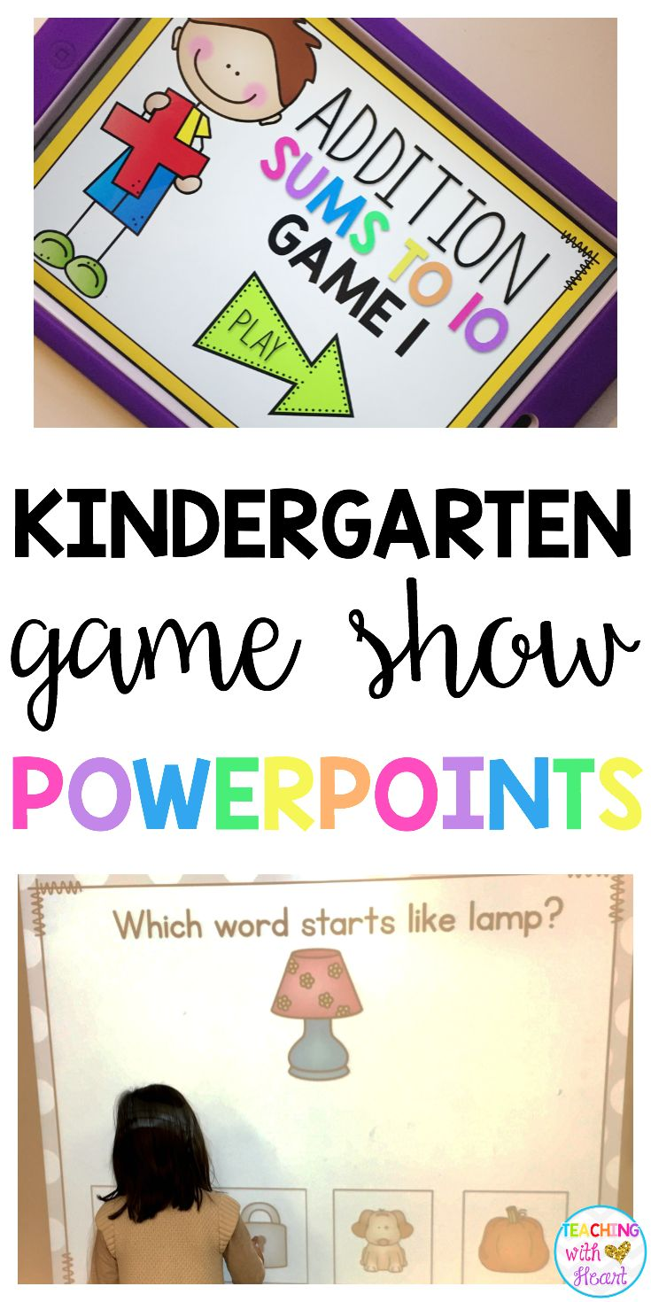 Engage your students in practicing their literacy and math skills with these game show powerpoints! Great for small group or whole group instruction- click to learn more!
