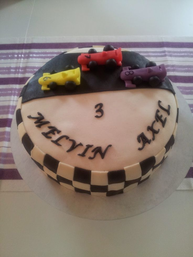 Tårtor av Malin: formel1 tårta