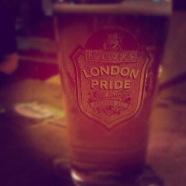Drinking beer at #Mullins #London #Pride #beer #pub #Maastricht - @kimkersten- #webstagram