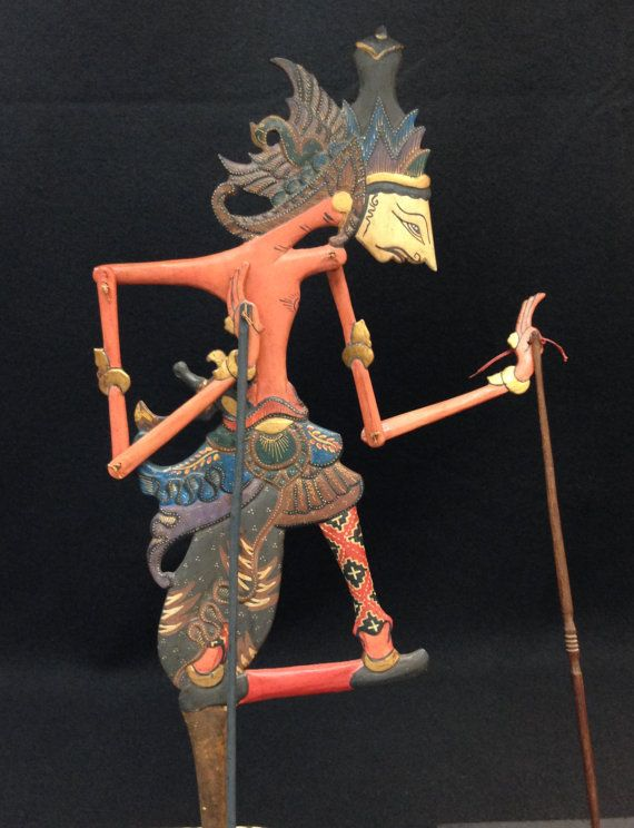 Wayang Klitik Puppet from Java by EthnicArtandJewelry on Etsy, $69.95