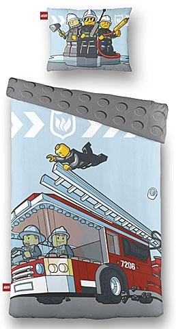 LEGO Dekbedovertrek City Brandweerwagen