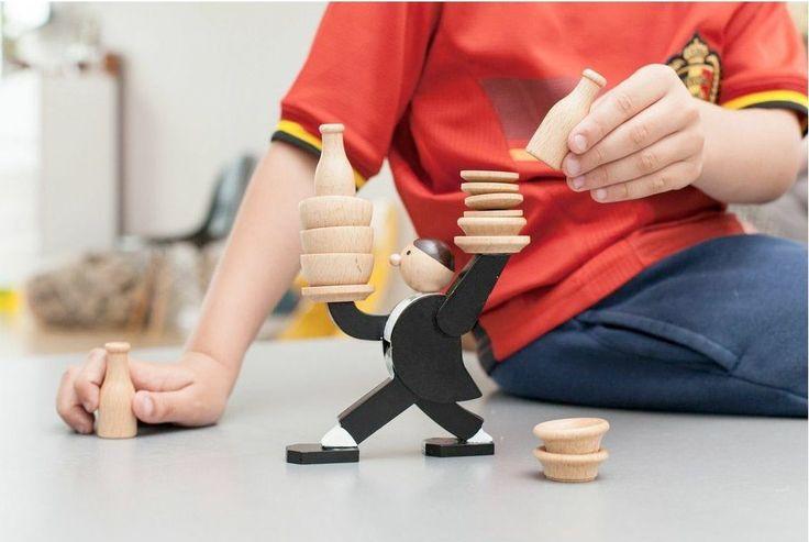 Kikkerland Don't Tip The Waiter Stacking Game #fun, #GadgetsForKids, #game, #stack
