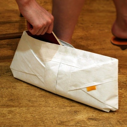 50 best tyvek images on pinterest cloaks clothing apparel and diy origami clutch made of tyvek which looks like paper but is as durable as fabric malvernweather Images