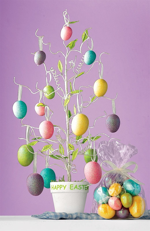 12 best ideas about egg trees on pinterest ornament tree How to make an easter egg tree