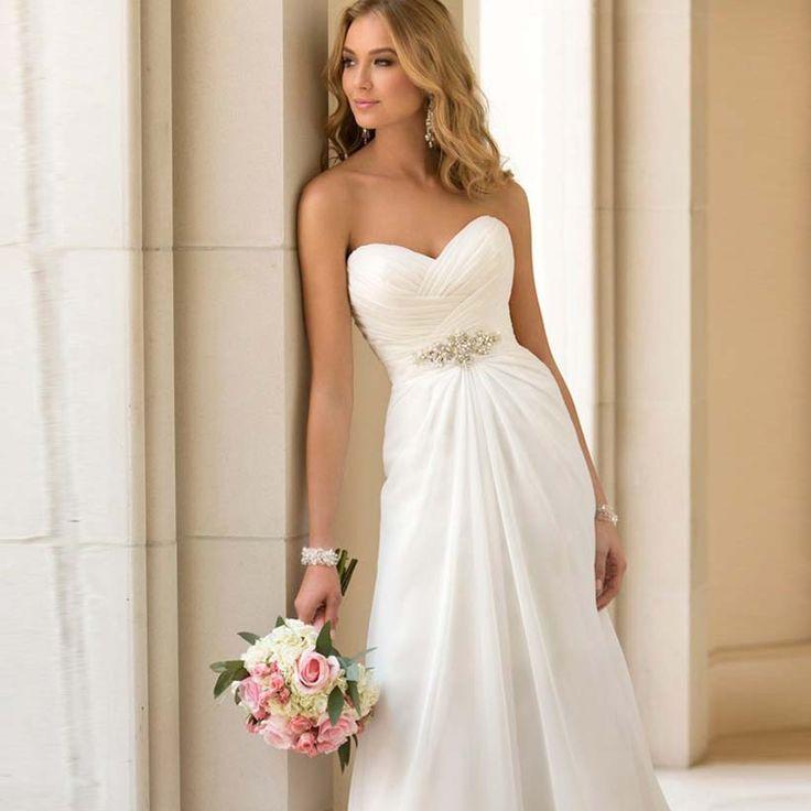 46 best Wedding Dresses images on Pinterest   Bridal gowns, Short ...