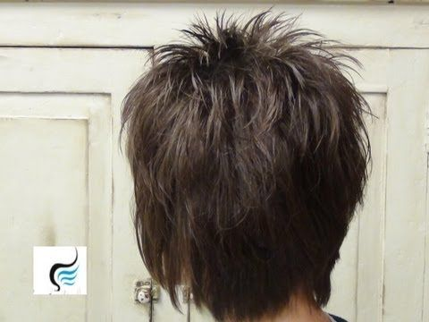▶ Trendy and Short Hairstyles for Ladies and Mothers - YouTube