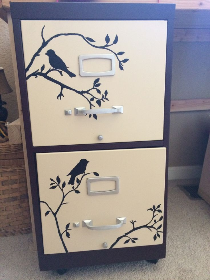 7 best painted file cabinet images on Pinterest | Painted ...