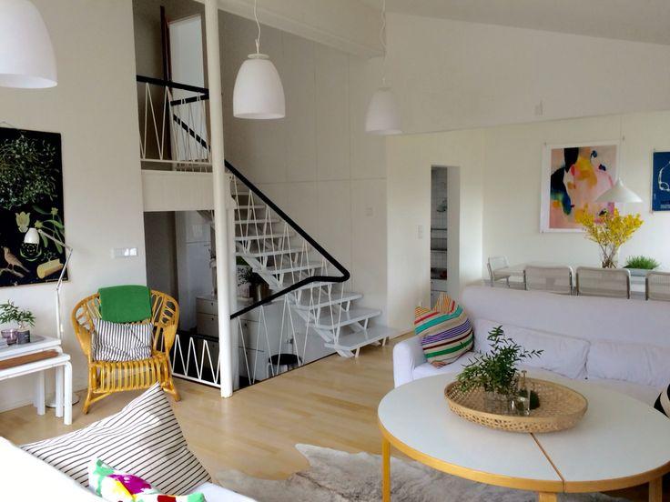 Livingroom, decoration Anna-Kaisa Melvas
