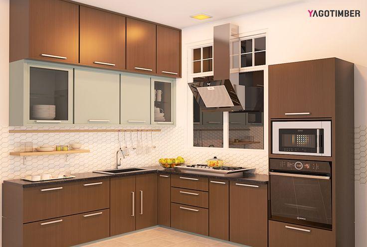 """""""Design Means Being Good, Not Just Looking Good."""" #kitchen #modularkitchen #interiordesign"""