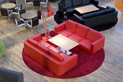 Leicester University Student Union : Planit Contract Furniture