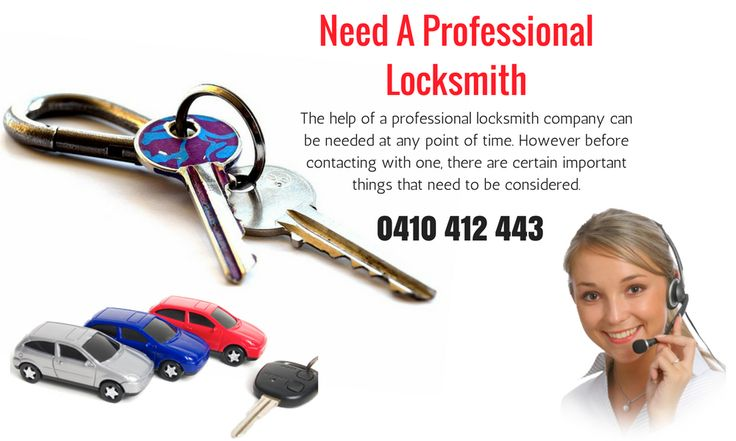 The help of a professional locksmith company can be needed at any point of time. However before contacting with one, there are certain important things that need to be considered. #automotivelocksmith #locksmithSydney #mobileautomotivelocksmith