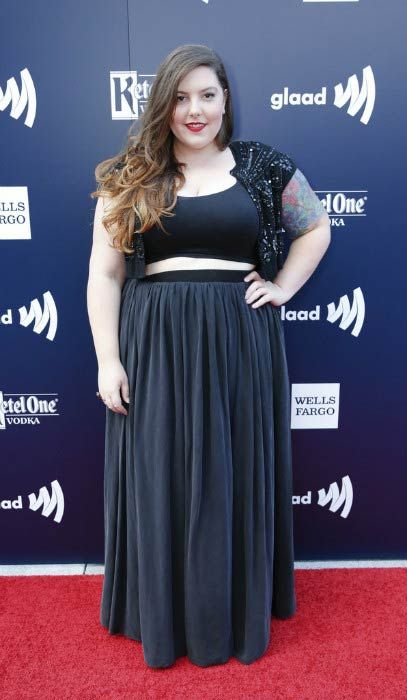 Mary Lambert at the GLAAD Gala San Francisco in September 2016...
