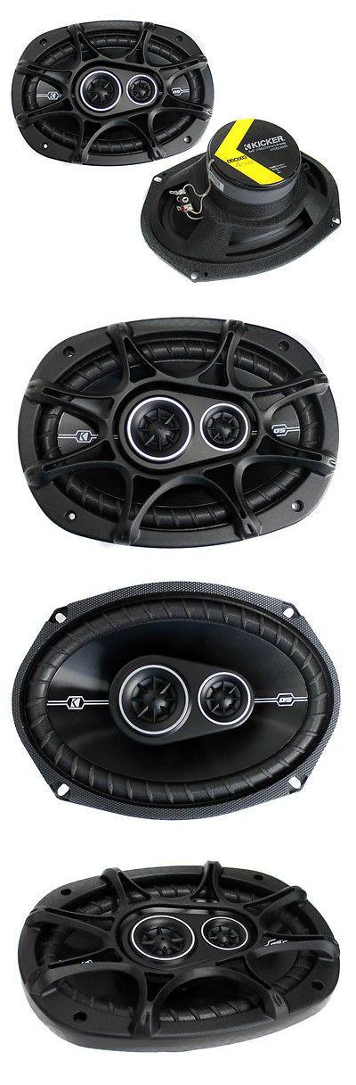 Car Speakers and Speaker Systems: 2) New Kicker 41Dsc6934 D-Series 6X9 360 Watt 3-Way Car Audio Coaxial Speakers BUY IT NOW ONLY: $59.45