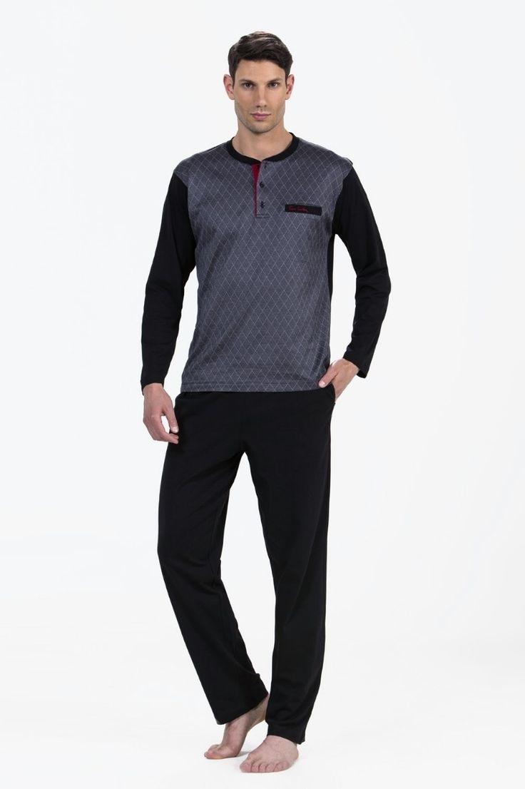 Pierre Cardin 5242 Erkek Pijama Takım  Erkek Pijama Takım online erkek pijama, 2017 erkek pijama | Mark-ha.com | #ErkekPijama #OnlineErkekPijama #2017ErkekPijama #ErkekGiyim #EvGiyimi #KışlıkErkekPijama #YeniSezon #Sonbahar #moda #trend #2017 #pijama #erkekmoda