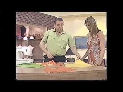 Puntos y Puntadas 327. Técnicas de Costura. Cómo Coser la Remera Reversible con Breteles. - YouTube