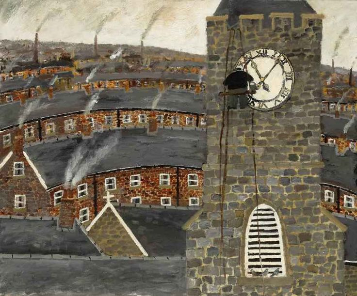 The Steeplejack was busy Repairing the clock face Way up high Where clouds pass by And leave without a trace, Gary Bunt