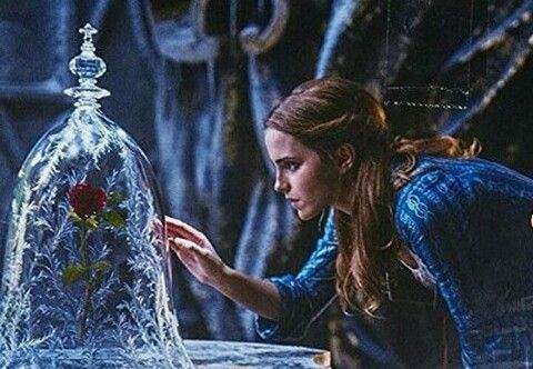 New picture of Emma Watson as Belle in Beauty and the Beast movie.