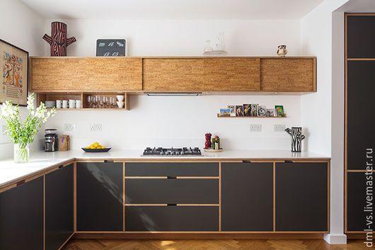 Мебель ручной работы. Ярмарка Мастеров - ручная работа. Купить кухня из фанеры. Handmade. Комбинированный, пробка