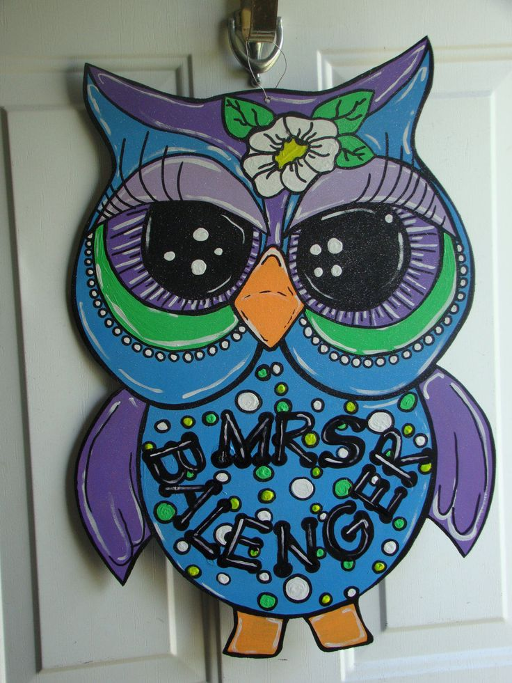 Best 25+ Owl door hangers ideas on Pinterest | Owl door ...