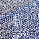 Stoff Baumwollstoff Meterware Japan Wellen blau weiß Seigaiha Kimono