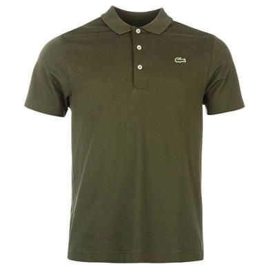 Lacoste | Mens Polo Shirts | Lacoste Plain Polo Shirt | USC.CO.UK