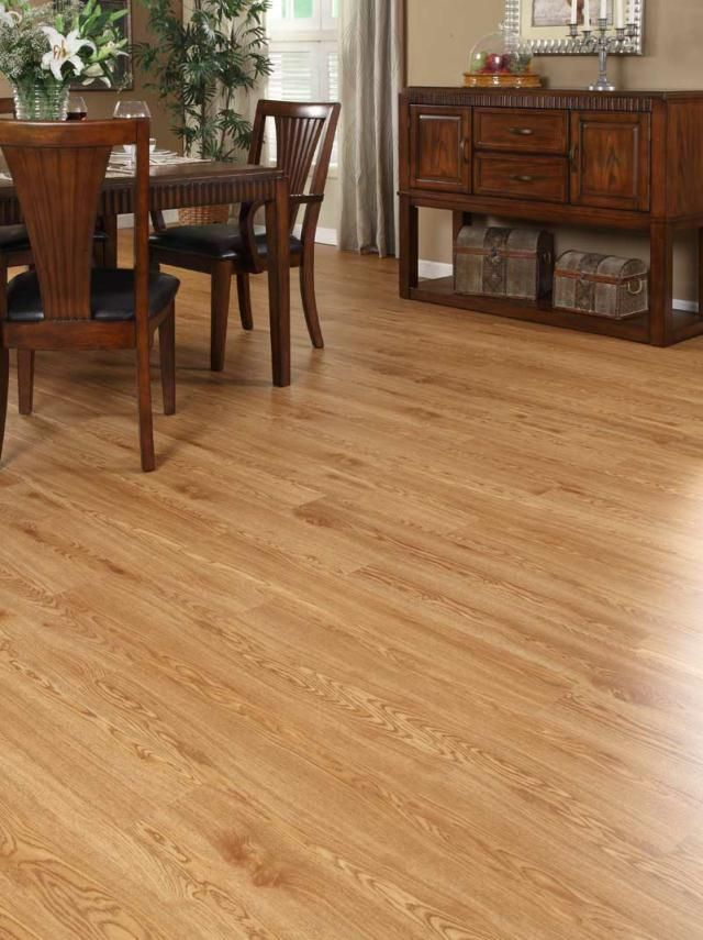 FF104 Red Oak     Free Fit products are heavier and more stable than other luxury vinyl products. The product itself is flexible, which enables it to conform to contours in the subfloor. Free Fit LVT is also completely water proof. Therefore it is suitable for a wet environment. Since this is a floating floor which is not secured to the subfloor, it can really be used again and again elsewhere!