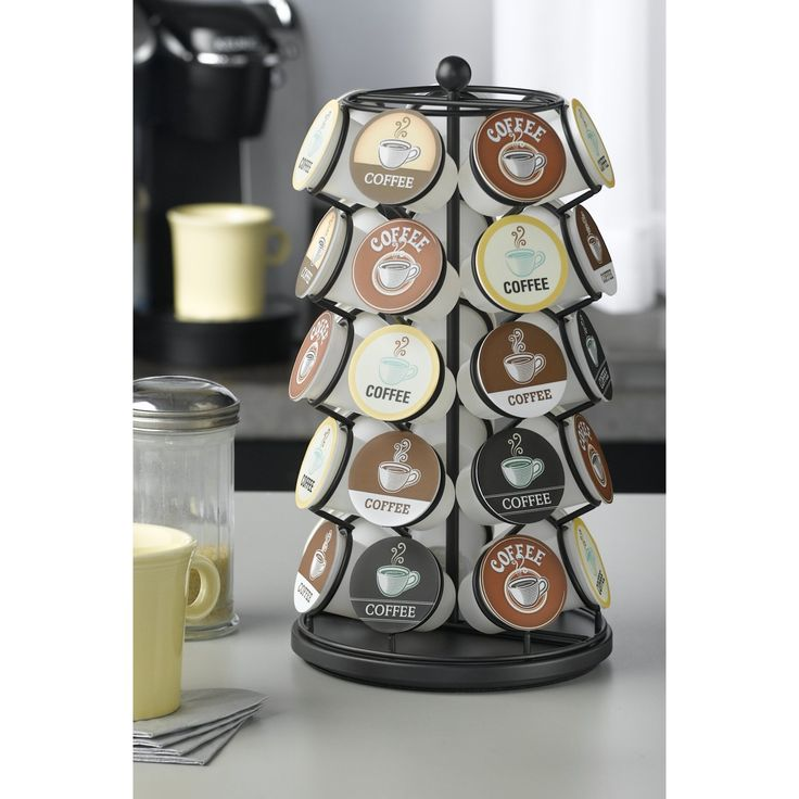 Nifty Home 35 Coffee Pod Carousel - Black - 5771