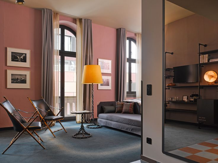 XL-Stube im 25hours Hotel Hamburg - Altes Hafenamt
