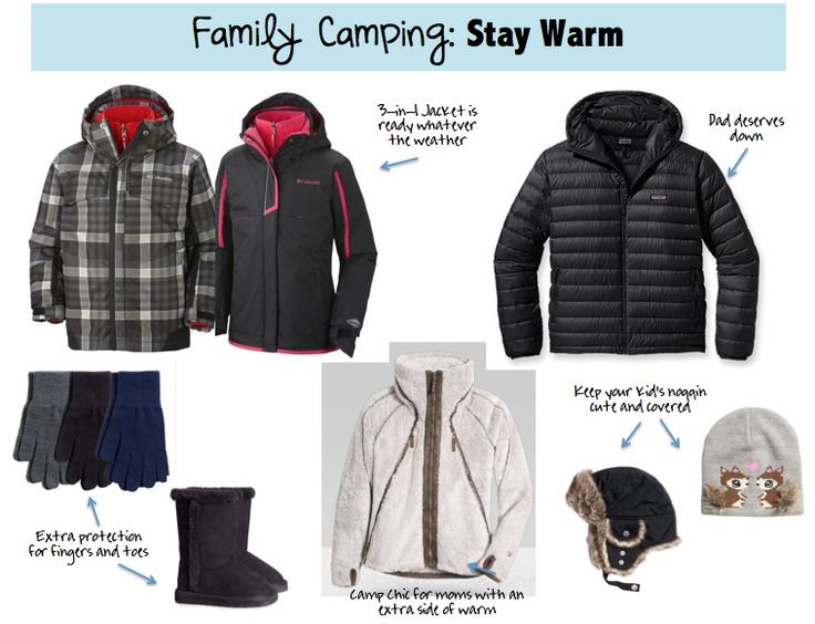 how to keep baby warm while camping