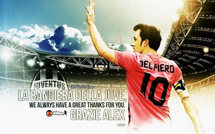 Alex Del Piero Juventus Legend HD Best Wallpapers