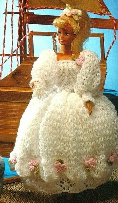 14 Best Barbie Knitted Clothes Images On Pinterest Barbie Doll