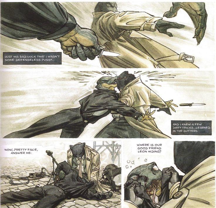 Blacksad Comic | BLACKSAD – JUAN DIAZ CANALES DAN JUANJO GUARNIDO