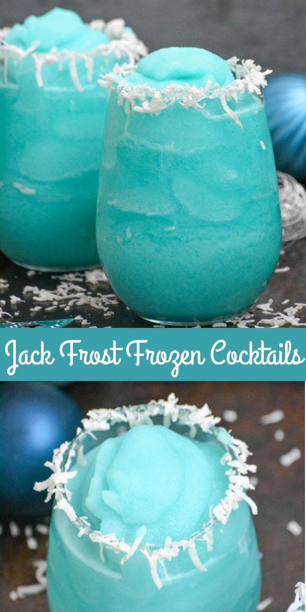 Jack Frost Frozen Winter Cocktails